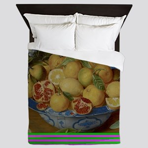 Still Life with Lemons, Oranges and a  Queen Duvet