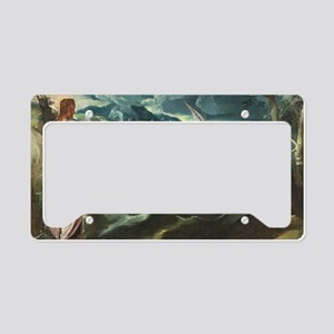Christ at the Sea of Galilee License Plate Holder