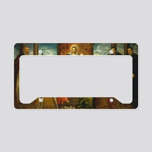 Classic Art - Painting of Mad License Plate Holder