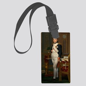 The Emperor Napoleon in His Stud Large Luggage Tag
