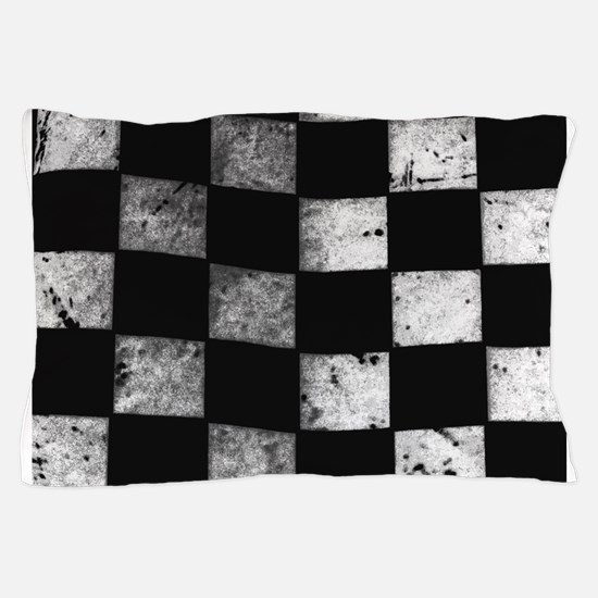 Checkered Flag Pillow Case