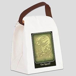Got Speed (antique) Canvas Lunch Bag