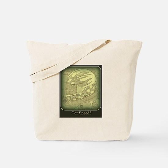 Got Speed (antique) Tote Bag