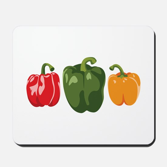 Bell Pepper Vegetables Mousepad