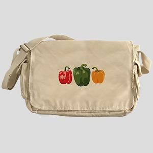 Bell Pepper Vegetables Messenger Bag