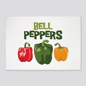 BELL PEPPERS 5'x7'Area Rug