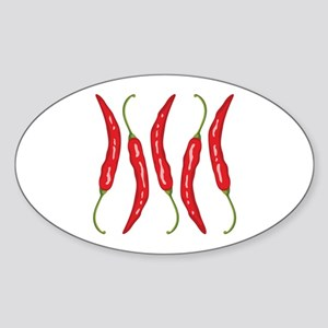 Chili Peppers Sticker