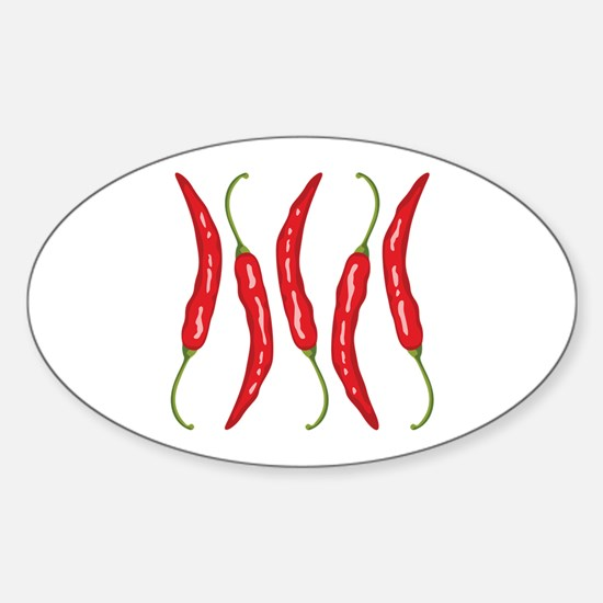 Chili Peppers Decal