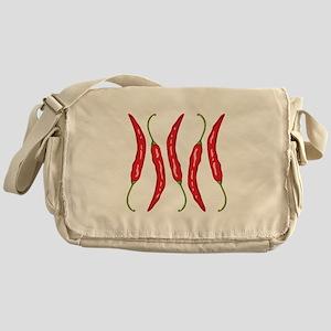 Chili Peppers Messenger Bag