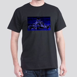 Kart Racer in Blue T-Shirt