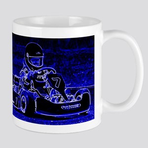 Kart Racer in Blue Mugs