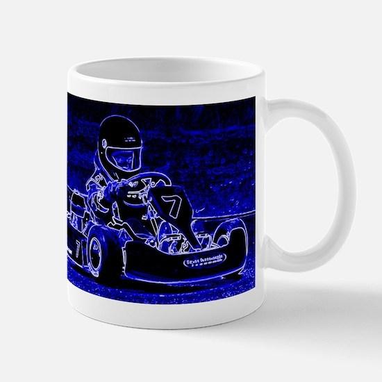 Kart Racer in Blue Mugs