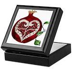 Pomegranate Heart Keepsake Box