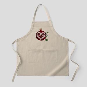 Pomegranate Heart Apron