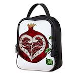 Pomegranate Heart Neoprene Lunch Bag