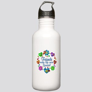Friends Make Life More Stainless Water Bottle 1.0L