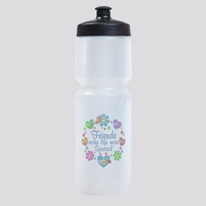 Friends Make Life More Special Sports Bottle