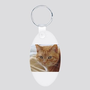 Orange Cat Keychains
