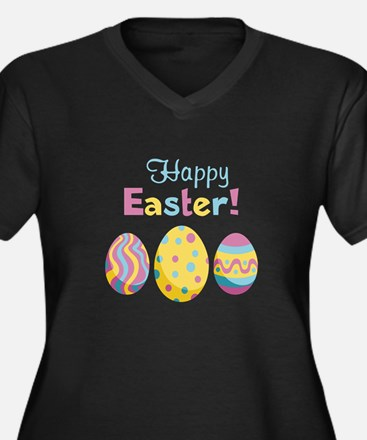 Happy Easter! Plus Size T-Shirt
