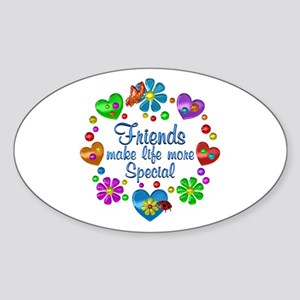 Friends Make Life More Special Sticker