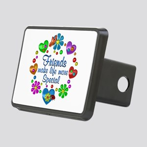Friends Make Life More Spe Rectangular Hitch Cover
