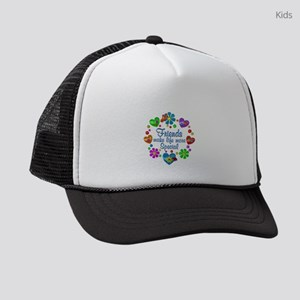 Friends Make Life More Special Kids Trucker hat