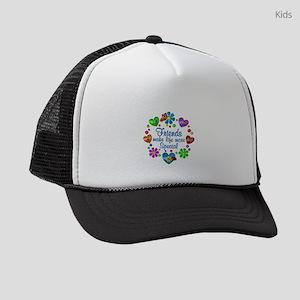 Friends Make Life More Special Kids Trucker hat