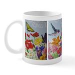 Summer Garden Art Mugs