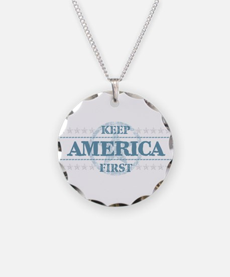 Keep America First Necklace