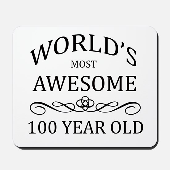 World's Most Awesome 100 year Old Mousepad