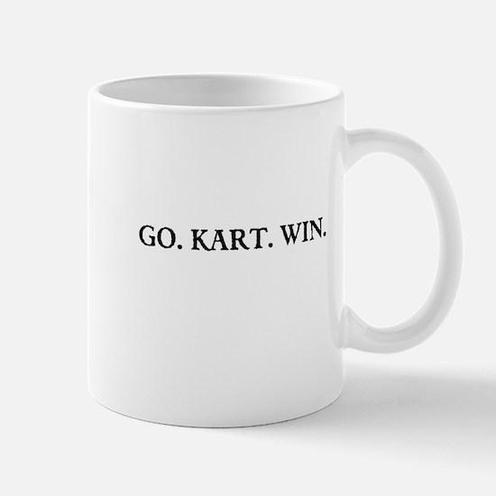 GO. KART. WIN. Mugs