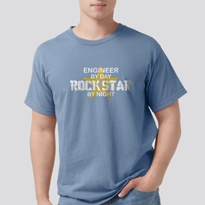 Engineer Rock Star by Nigh T-Shirt