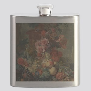 Still Life Fruit Flask