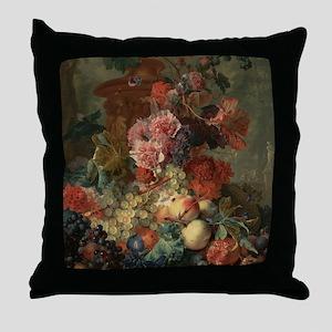 Still Life Fruit Throw Pillow