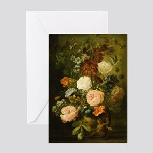 Still Life Painting - Vase of Flower Greeting Card