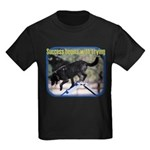 Success Begins With Trying Kids Dark T-Shirt