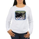 Success Begins With Trying Women's Long Sleeve T-S