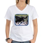 Success Begins With Trying Women's V-Neck T-Shirt