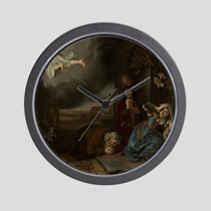 The Angel Taking Leave of Tobit and His Wall Clock