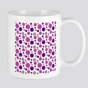 Fun Purple Bubbles Mugs