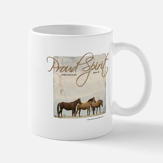 Poud Spirit Sanctuary Mustangs Mug
