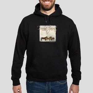 Poud Spirit Sanctuary Mustangs Hoodie (dark)