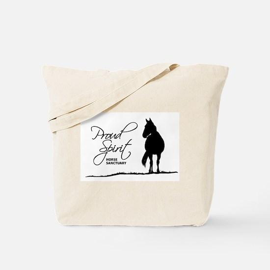 Proud Spirit Sanctuary Horses Tote Bag