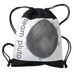 Team Pluto Drawstring Bag