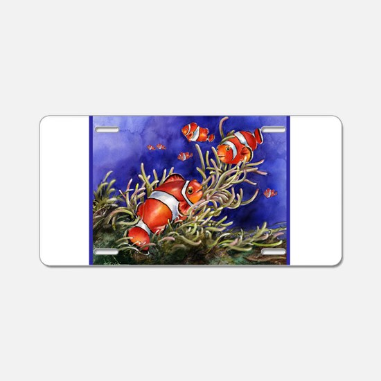 Aluminum License Plate with Nemo