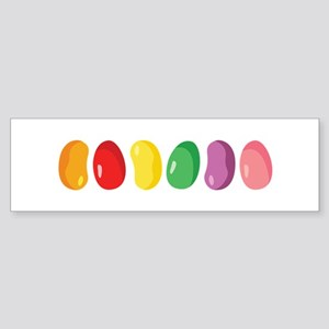 Jelly Beans Bumper Sticker