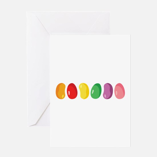 Jelly Beans Greeting Cards