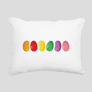 Jelly Beans Rectangular Canvas Pillow