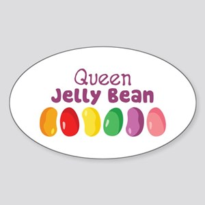 Queen Jelly Bean Sticker