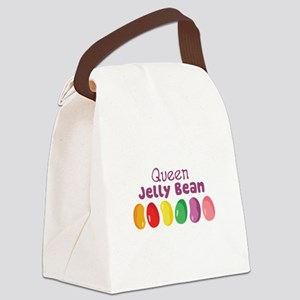 Queen Jelly Bean Canvas Lunch Bag